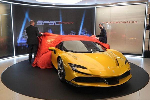Ferrari SF90 Spider hơn 26 tỷ ở Hồng Kông, đại gia Việt 'phát thèm'