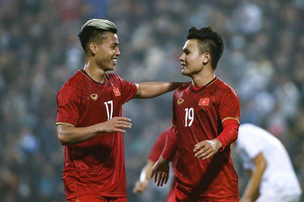 Danh sách đội tuyển Việt Nam chuẩn bị cho vòng loại World Cup 2022