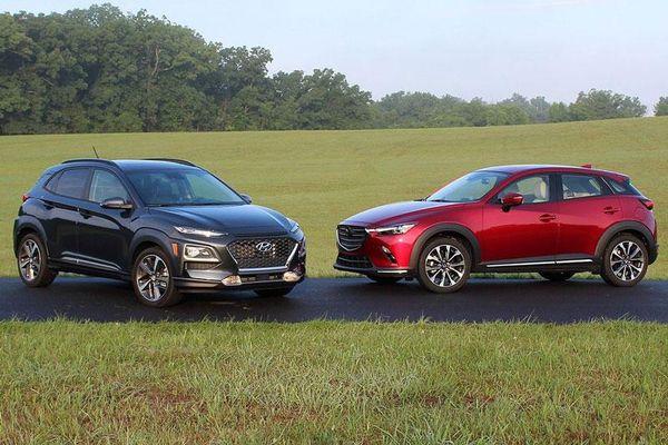 So sánh Mazda CX-3 với Hyundai Kona