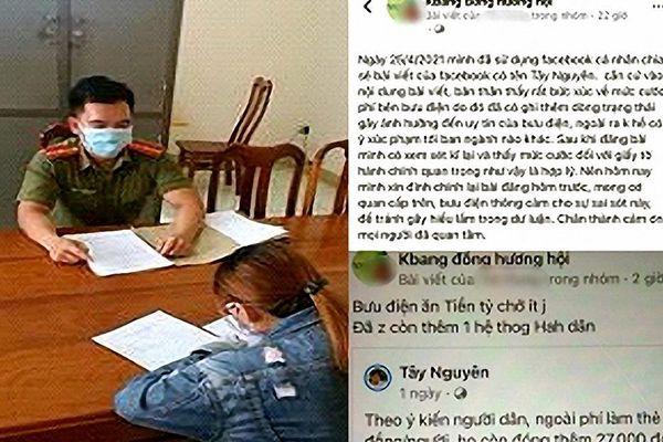 Bị công an mời làm việc vì đăng tin trên facebook sai sự thật