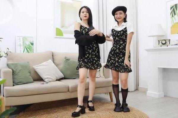 Lin Tiêu chia sẻ cách 'biến hóa' trang phục diện đôi cùng bạn thân