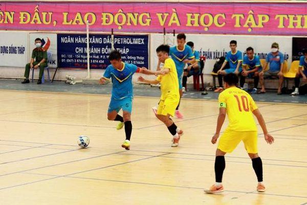 Khai mạc Giải Futsal tranh cúp Xổ số kiến thiết tỉnh Đồng Tháp năm 2021