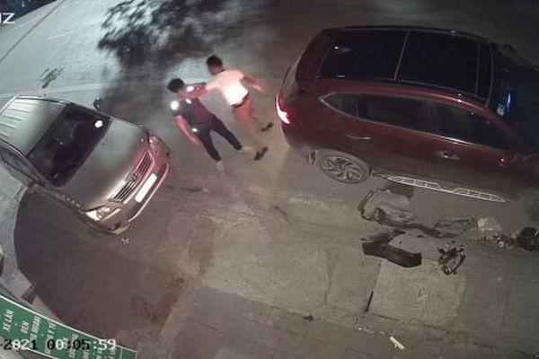 Gây tai nạn, lái xe còn hùng hổ đánh người