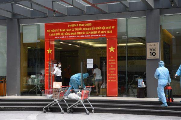 Phong tỏa tòa nhà Park 10, Times City có chuyên gia Ấn Độ dương tính với SARS-CoV-2
