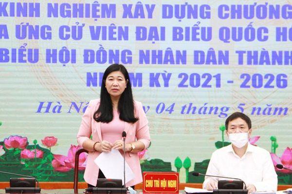 Hà Nội: Trao đổi kinh nghiệm với người ứng cử đại biểu Quốc hội và HĐND thành phố
