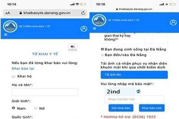 Đà Nẵng: Hơn 400.000 lượt khai báo y tế qua ứng dụng điện tử