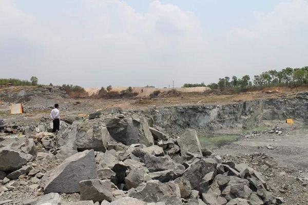 Đồng Nai: Tìm hướng khắc phục môi trường khu vực mỏ đá Tân Cang