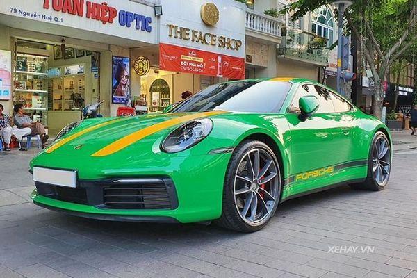 Porsche 911 Carrera S 2020 'hàng hiếm' lăn bánh tại Sài Gòn