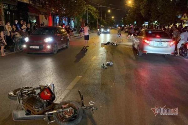 Tài xế bỏ chạy sau khi gây tai nạn làm chết nữ sinh và bị thương 3 người