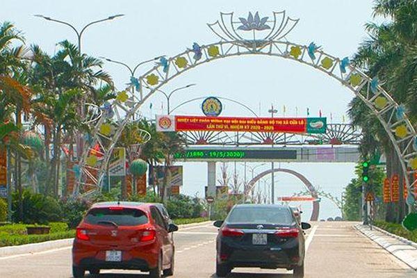 Nghệ An: Thị xã Cửa Lò chi gần 7,4 tỷ đồng làm cổng chào trang trí