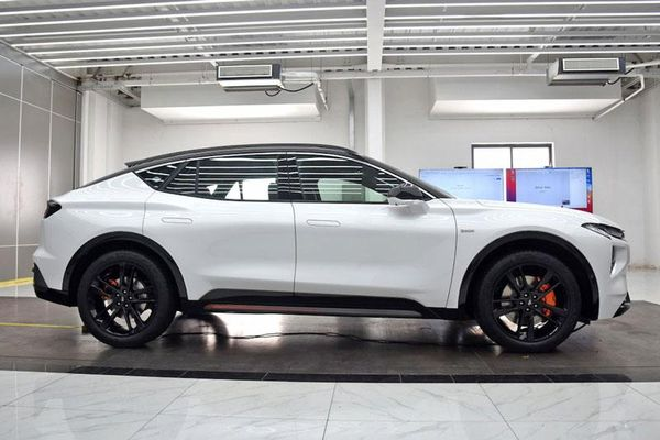 Ford Evos 2021 - mẫu SUV coupe dành riêng cho thị trường Trung Quốc