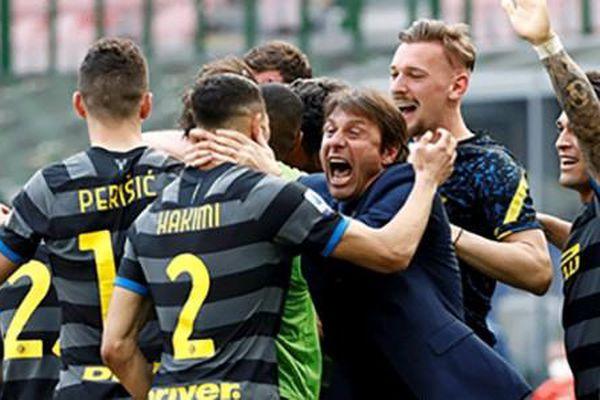 Inter Milan chính thức lên ngôi Serie A