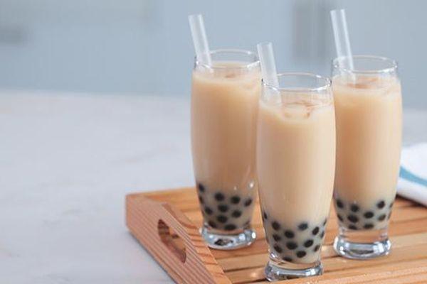 Núp bóng trà sữa