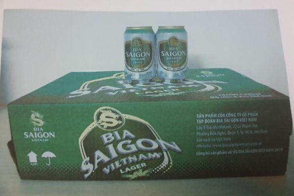Trả hồ sơ vụ xâm phạm sở hữu nhãn hiệu bia Sài Gòn