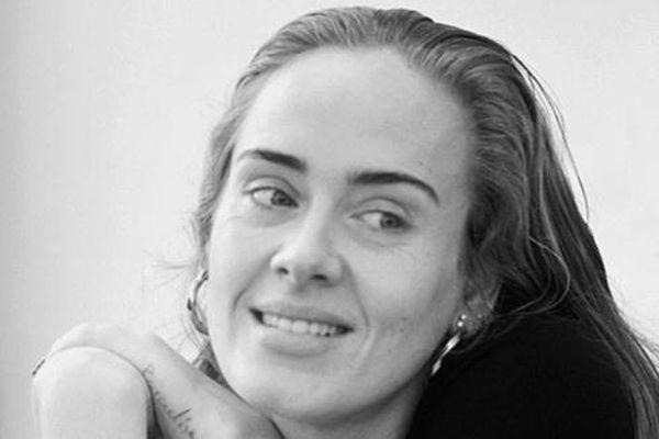 Mặt mộc của Adele sau khi giảm cân