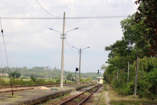 Tai nạn đường sắt ở Quảng Nam, một người tử vong