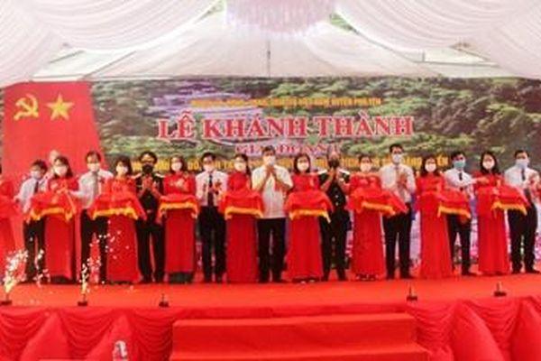 Sơn La: Khánh thành khu tưởng niệm Đại tướng Võ Nguyên Giáp