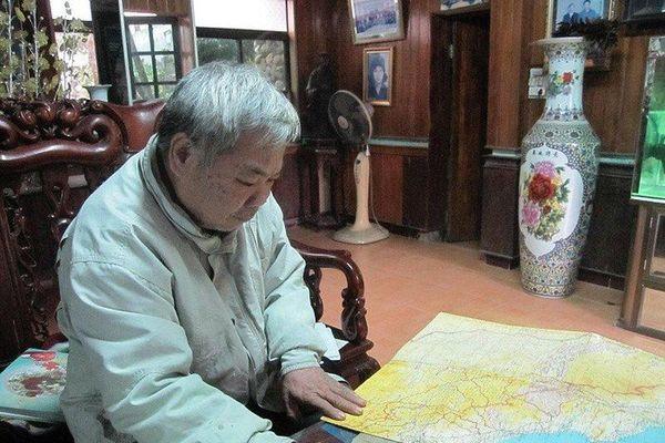 Chuyện chưa kể về người vẽ bản đồ đường Trường Sơn năm xưa