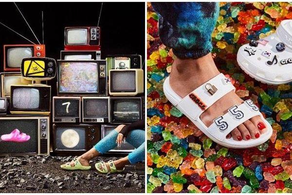 Rico Nasty, MLMA, Beabadoobee, Kemio và Victor Ma khoe style độc lạ với mẫu Sandals kết hợp cùng Crocs x Highsnobiety