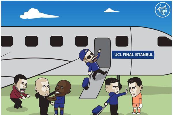 Ảnh Chế: Chelsea lập toàn kỷ lục khủng, Hazard vui như Tết khi The Blues vào chung kết