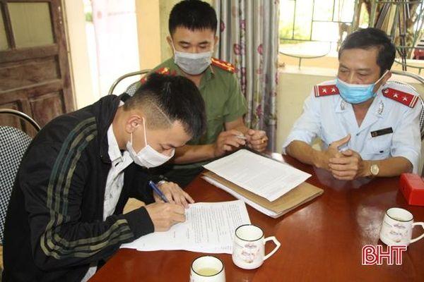 Đăng thông tin xuyên tạc trên Tiktok, 1 thanh niên ở Vũ Quang bị xử phạt 7,5 triệu đồng