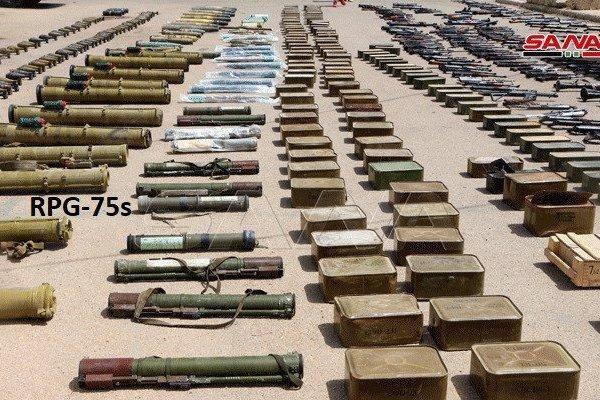 Bí ẩn của kho vũ khí vừa được phát hiện ở Syria khiến Nga và Mỹ 'bị réo tên'