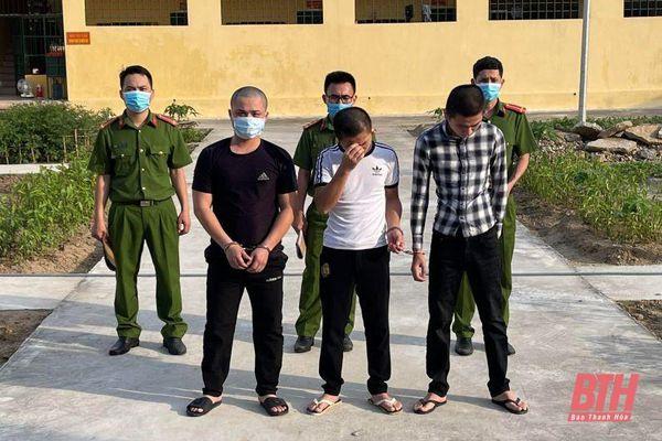 Công an thị xã Nghi Sơn liên tiếp phá 3 vụ mua bán, vận chuyển, tổ chức sử dụng trái phép ma túy