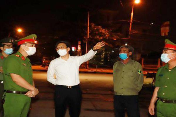 Công an Bắc Giang: Thâu đêm tham gia phòng, chống dịch Covid-19