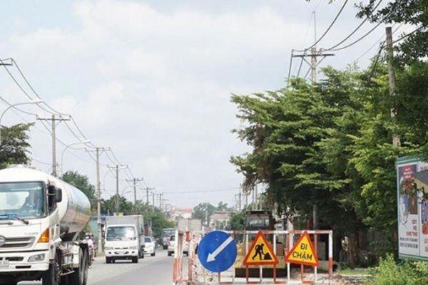 TP.HCM lắp đặt tim đường kéo giảm tai nạn qua Tỉnh lộ 8