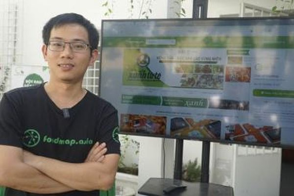 Phạm Ngọc Anh Tùng, sáng lập Foodmap: 'Tôi muốn xuất khẩu nông sản Việt có thương hiệu'