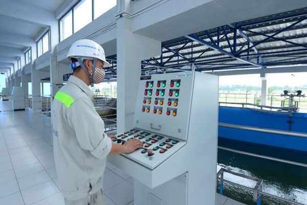 Hà Nội bảo đảm cấp nước sạch mùa hè 2021: Chủ động các giải pháp