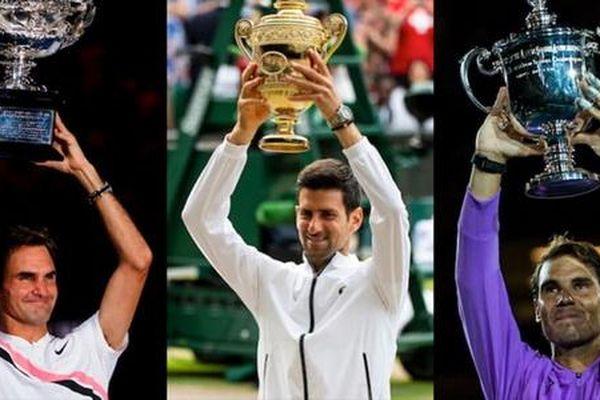 Quần vợt thế giới Federer, Nadal và Djokovic tiếp tục thống trị