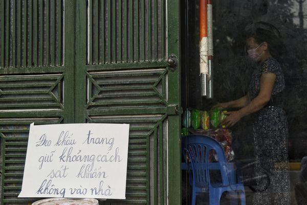 Thành phố Vĩnh Yên trong ngày đầu giãn cách xã hội