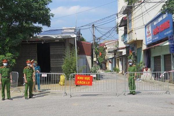 Hà Nội: Phong tỏa tạm thời phố Tía, xã Tô Hiệu, huyện Thường Tín nơi có ca nhiễm Covid-19