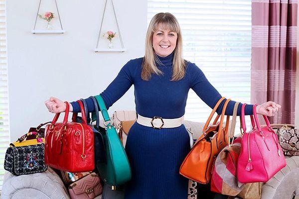 Quý bà sắm 362 chiếc túi xách để mỗi ngày thay một chiếc