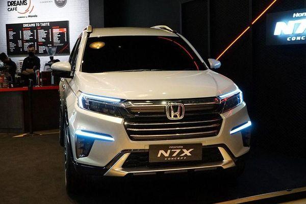 Honda BR-V 7 chỗ ngồi sắp về Việt Nam 'đấu' Mitsubishi Xpander?