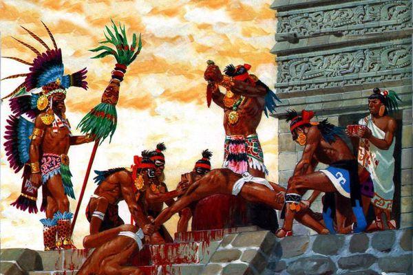 Rùng mình cuộc hiến tế 20.000 người của đế chế Aztec