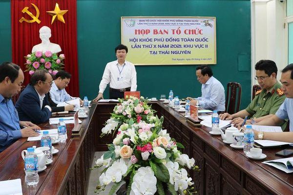 Lùi thời gian tổ chức Hội khỏe Phù Đổng toàn quốc khu vực II tại Thái Nguyên