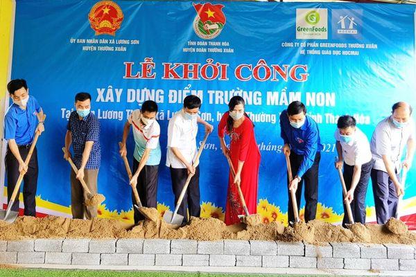 Giúp trẻ vùng cao Thanh Hóa có trường mới