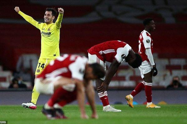 Hòa thất vọng trên sân nhà, Arsenal dừng bước tại bán kết Europa League
