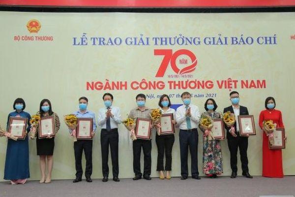 Tác phẩm của Tạp chí Năng lượng Mới đạt Giải báo chí 70 năm ngành Công Thương Việt Nam