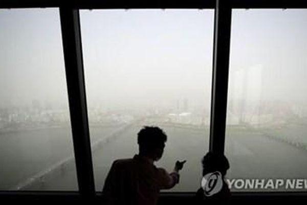 Thủ đô Seoul chìm trong khói bụi như ngày tận thế
