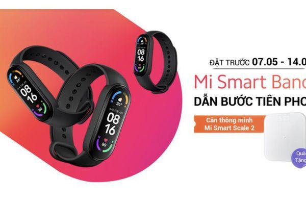 Mi Smart Band 6 giúp theo dõi và nâng cao sức khỏe chính thức đến tay người tiêu dùng Việt Nam