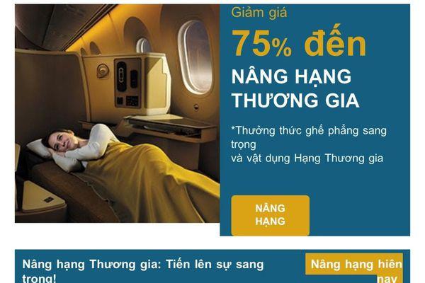 Lùm xùm việc hành khách tố Vietnam Airlines 'cắt' suất ghế thương gia
