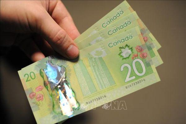 Đồng nội tệ của Canada tăng lên mức cao nhất kể từ năm 2017