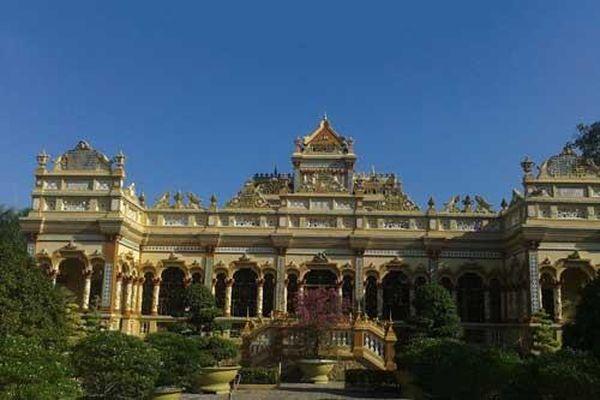Chùa Vĩnh Tràng - di tích lịch sử độc đáo ở Nam bộ