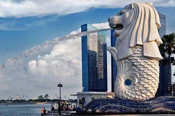 Tượng Merlion - Nét đặc trưng của đảo quốc Singapore