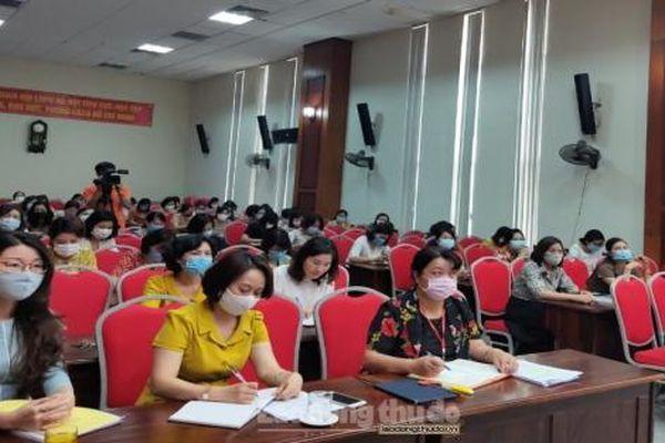 Phụ nữ Hà Nội bám sát 10 Chương trình công tác trọng tâm của Thành ủy