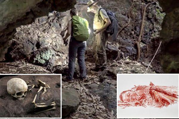 Bí ẩn thi thể của em bé 3 tuổi trong mộ cổ 78.000 năm tuổi