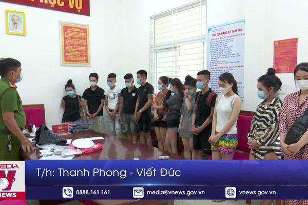 Xứ lý nhóm thanh niên sử dụng ma túy trong khách sạn tại Đà Nẵng